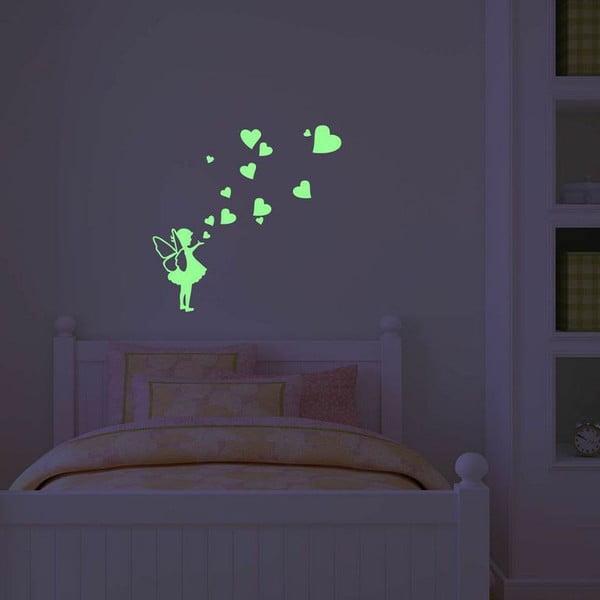 Ve tmě svítící samolepka Ambiance Little Fairy Tale