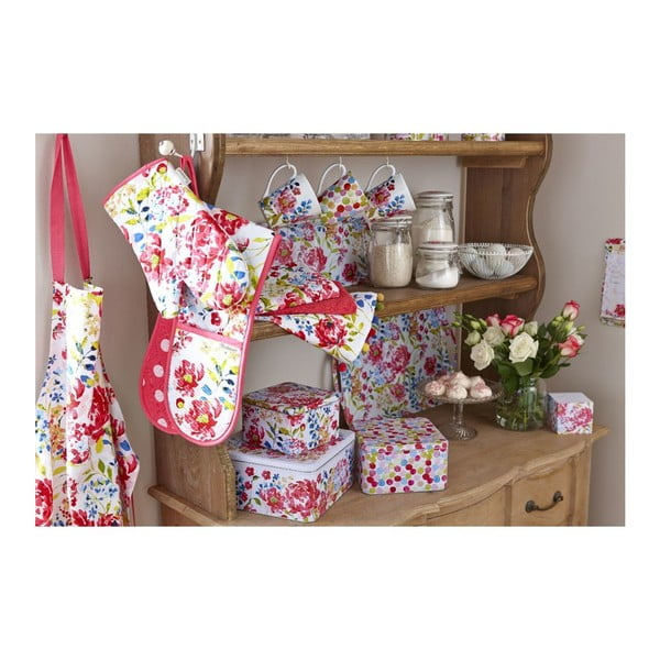Blok na zápisky Cooksmart England Floral Romance