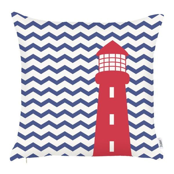 Față de pernă Apolena Lighthouse, 43 x 43 cm, albastru