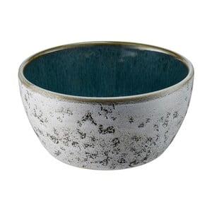 Bol din ceramică și glazură interioară verde Bitz Mensa, diametru 12 cm, gri
