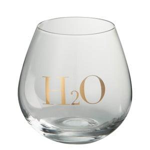 Pahar pentru apă J-Line Gold Elegance