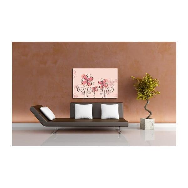 Obraz Pink Flower, 60x80 cm