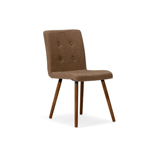Hnědá židle SOB Arana
