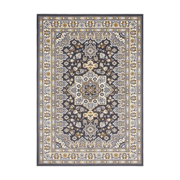 Ciemnoszary dywan Nouristan Parun Tabriz, 80x150 cm