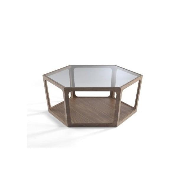 Konferenční stolek z ořechového dřeva Ángel Cerdá Eldora