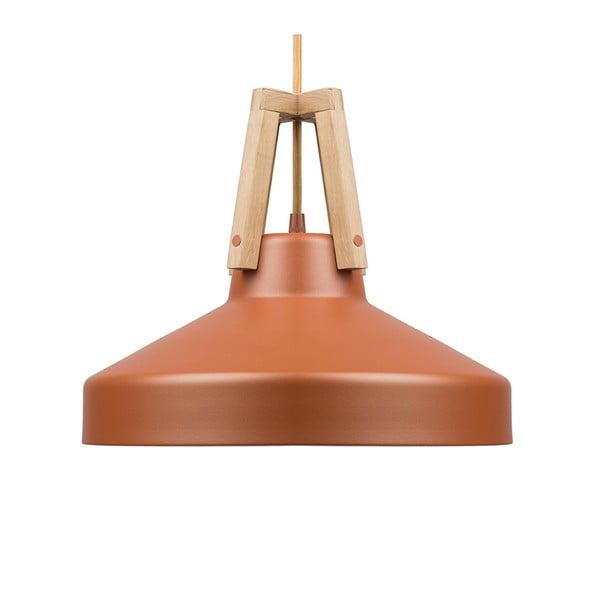Karamelově hnědé stropní světlo Loft You Work, 33 cm