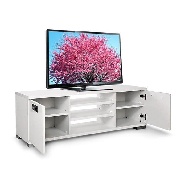 Televizní stolek Nasya, bílý