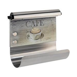 Suport magnetic pentru șervete bucătărie cu dozator de folie Wenko Café