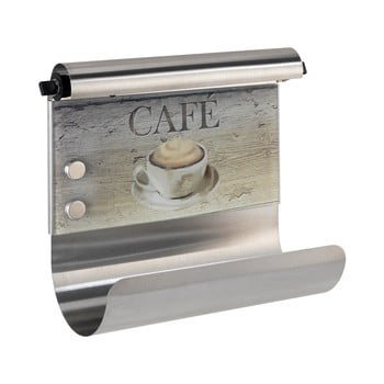 Suport magnetic pentru șervete bucătărie cu dozator de folie Wenko Café de la Wenko
