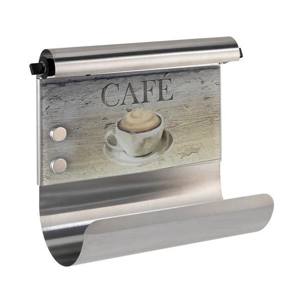 Magnetyczny uchwyt na ręczniki papierowe i folię Wenko Café