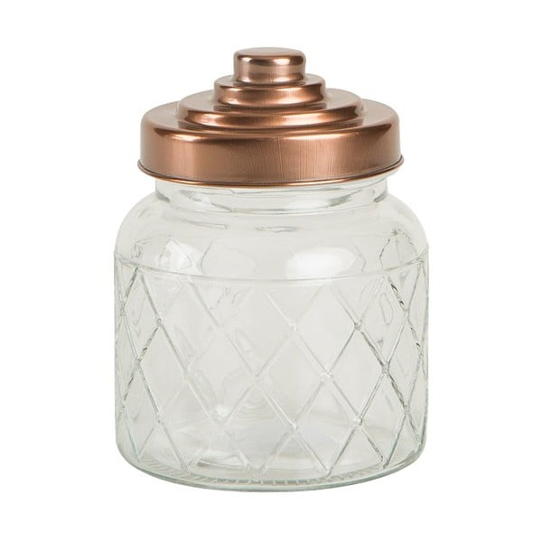 Recipient din sticlă T&G Woodware Lattice, 600 ml