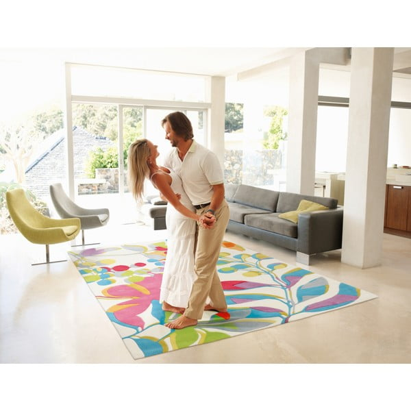Ručně tkaný koberec Spirit Leaves, 140x200 cm