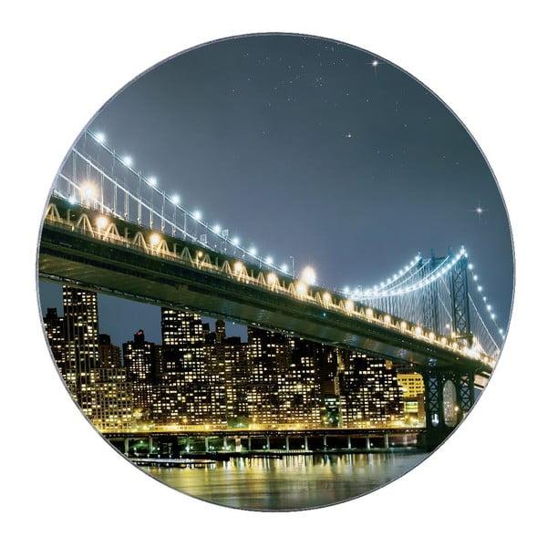 Skleněná podložka pod hrnec Wenko Brooklyn Bridge
