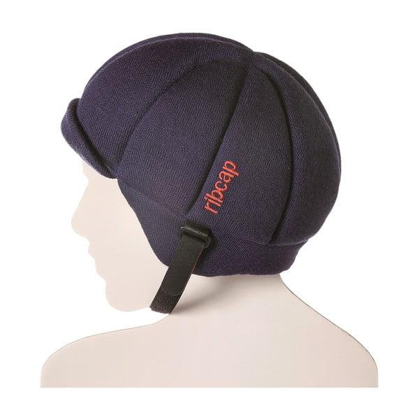 Tmavě modrá čepice s ochrannými prvky Ribcap Jackson, vel. S