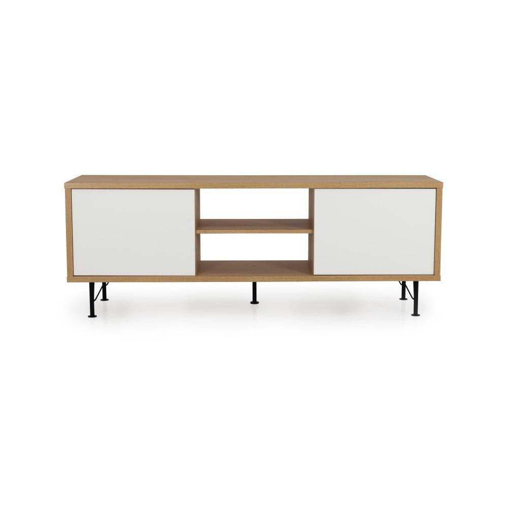 Bílý TV stolek Tenzo Flow