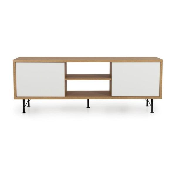 Flow fehér TV-állvány - Tenzo