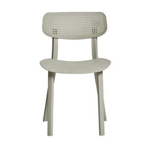 Sada 4 šedých jídelních židlí Marckeric Eleni