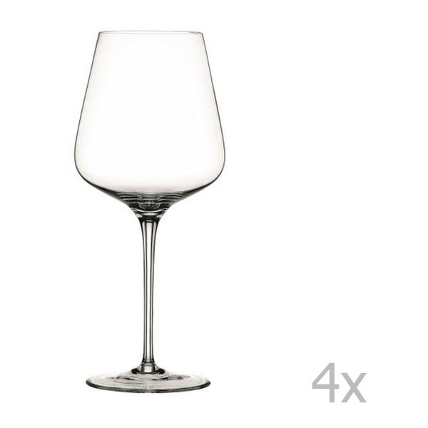 Zestaw 4 kieliszków do czerwonego wina ze szkła kryształowego Nachtmann Vinova Magnum, 680 ml