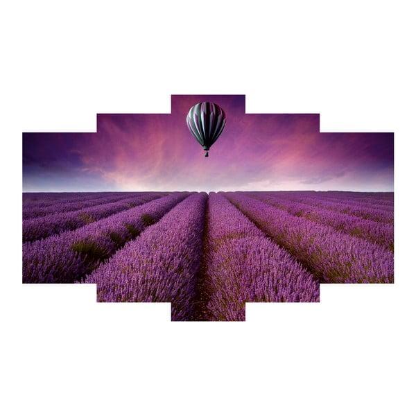 5dílný obraz Provence