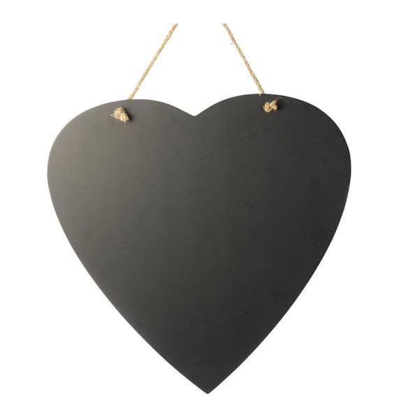 Závěsná tabule Black Heart