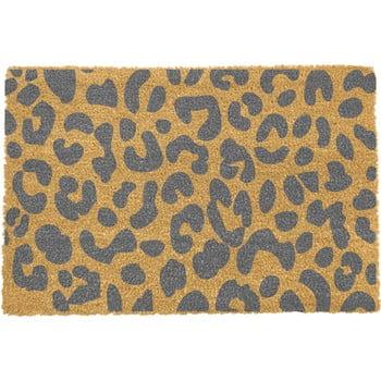 Covoraș intrare Artsy Doormats Leopard, 40 x 60 cm, gri imagine