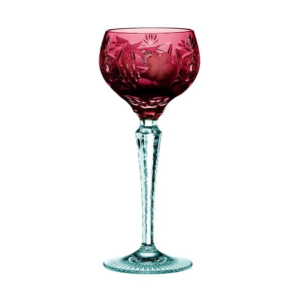 Pahar din cristal pentru vin Nachtmann Traube Wine Hock Copper Ruby, 230 ml, roșu