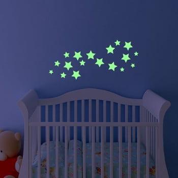 Autocolant fosforescent Fanastick Simple Stars de la Ambiance