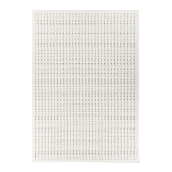 Bílý vzorovaný oboustranný koberec Narma Esna, 70 x 140cm