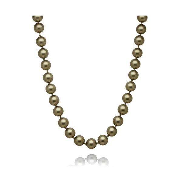 Zelený perlový náhrdelník Mara de Vida Only Me, délka 50cm
