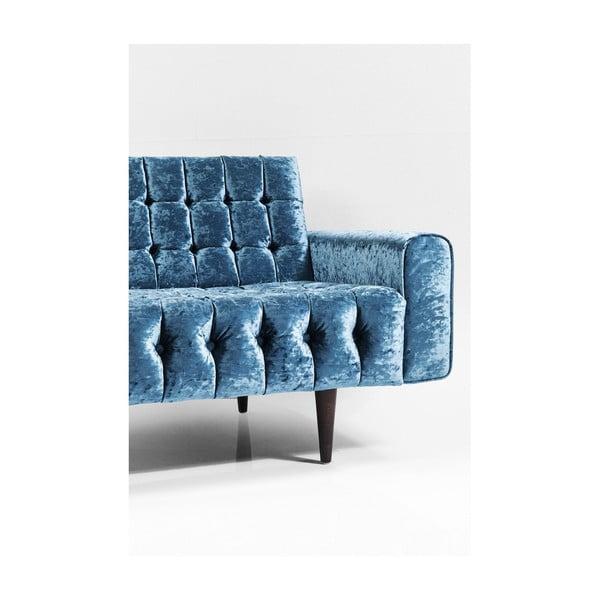 Modrá trojmístná pohovka Kare Design Milchbar