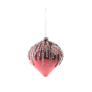 Sada 6 skleněných vánočních ozdob InArt Christmas