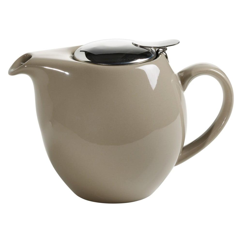 Béžová kameninová konvice se sítkem na čaj Maxwell & Williams Infusions T, 1 l