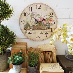 Nástěnné hodiny Orchidea Flowers