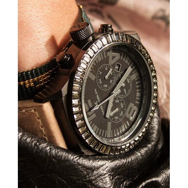 Dámské hodinky Marc Coblen s páskem a kroužkem navíc P66