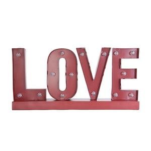Svítící LED nápis Clayre & Eef Love, 60 cm