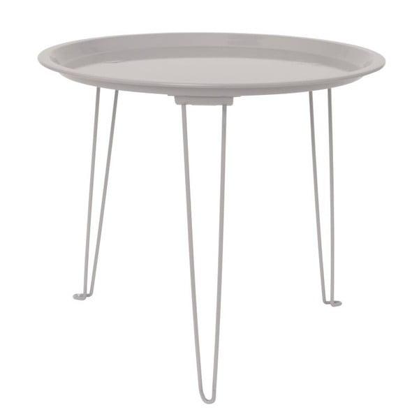 Šedý odkládací stolek Present Time Tray Mouse