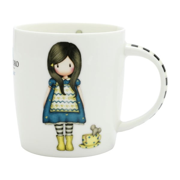 Hrnek z kostního porcelánu Gorjuss Little Friend, 250 ml