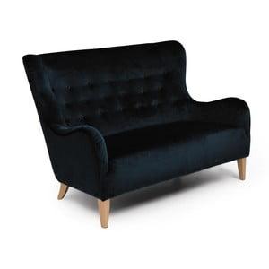 Canapea 2 locuri Max Winzer Medina, negru