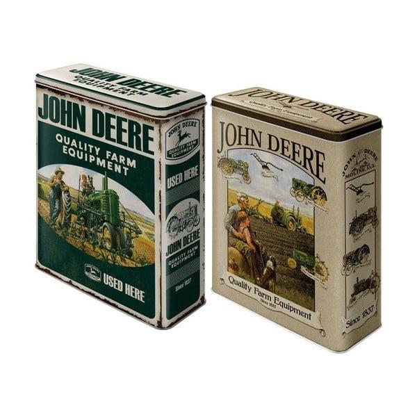 Sada 2 dóz John Deere