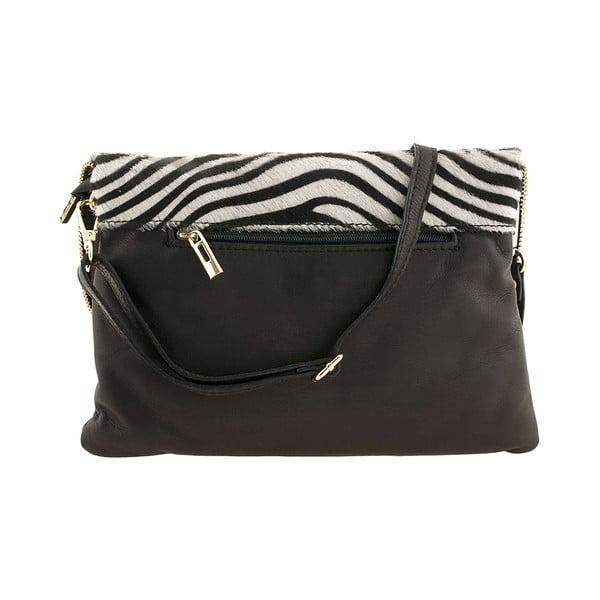 Kožená kabelka Borghe Zebra
