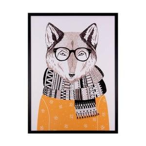Tablou Sømcasa Wolf, 60 x 80 cm