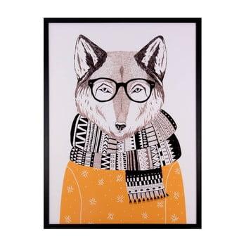 Tablou Sømcasa Wolf 60 x 80 cm