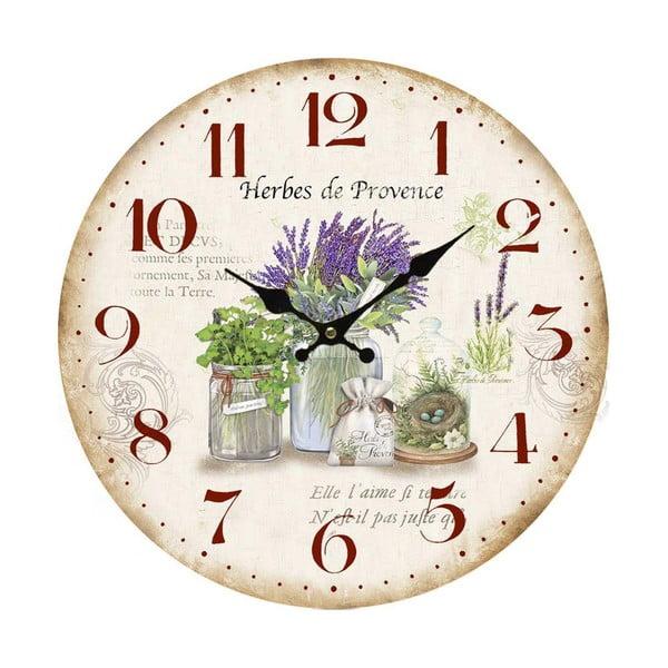 Nástěnné hodiny Bolzonella  Lavanda