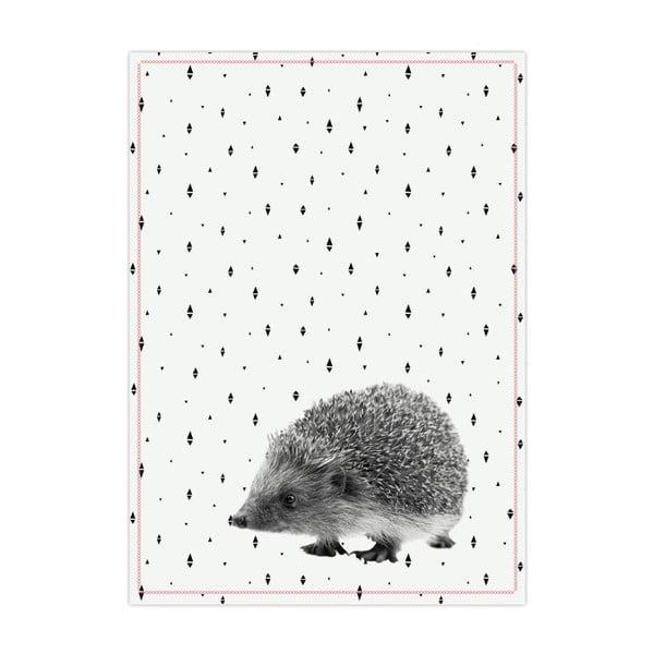 Kuchynská utierka PT LIVING Hedgehog, 50×70 cm