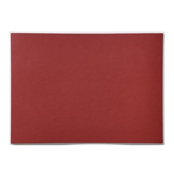 Lino Rosehip piros tányéralátét - Zone