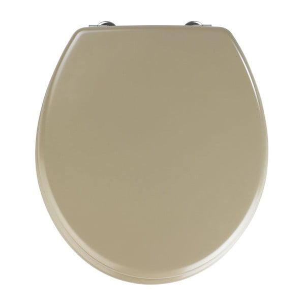 Béžové WC sedátko Wenko Prima, 41 x 38 cm