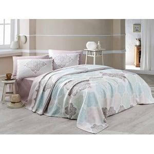 Přehoz přes postel s prostěradlem a povlakem na polštář Andalucia, 160x230cm