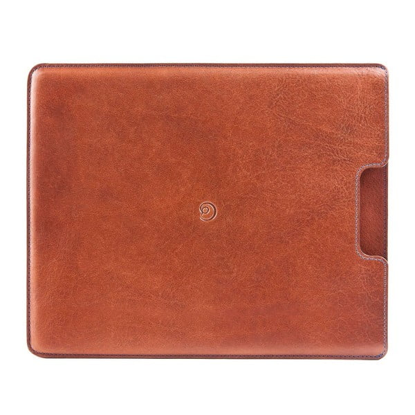 Danny P. kožený obal na iPad Tobacco
