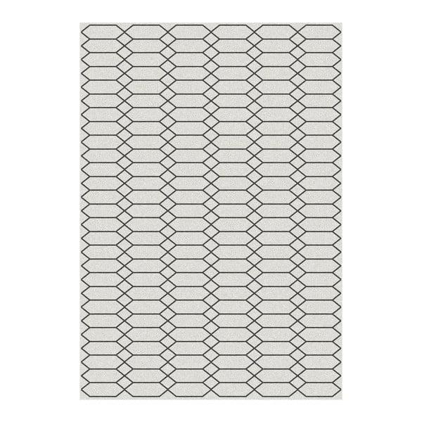 Norway Blanco fekete szőnyeg, 80 x 150 cm - Universal