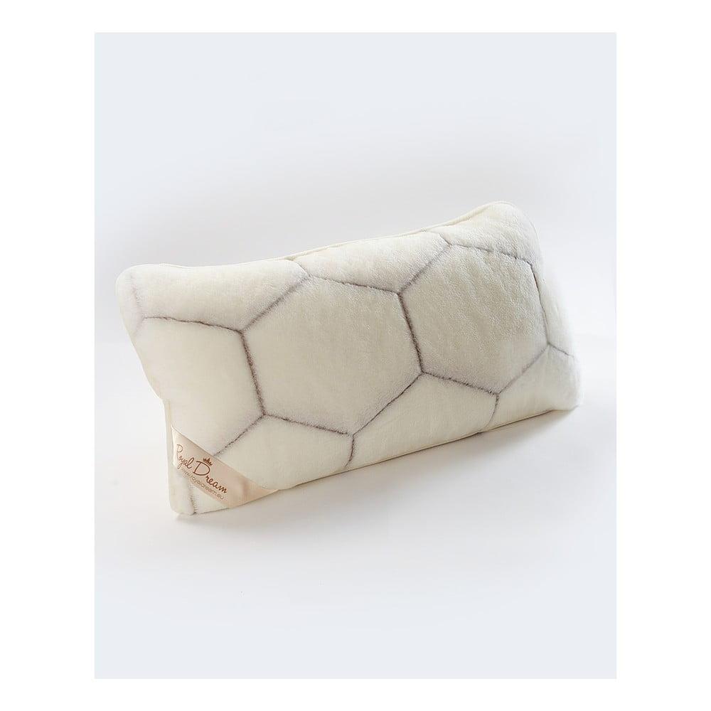 Vlněný polštář Royal Dream Cashmere He, 40 x 70 cm